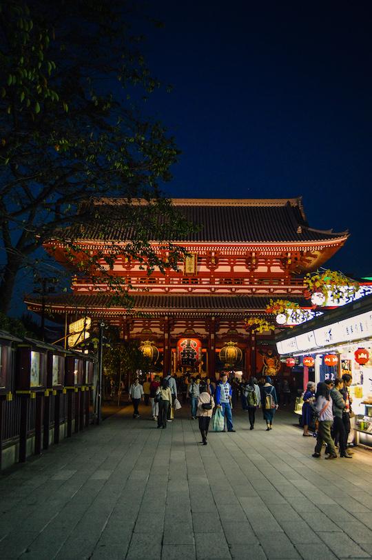 Nakamise Dori Markets around Senso Ji Asakusa Tokyo
