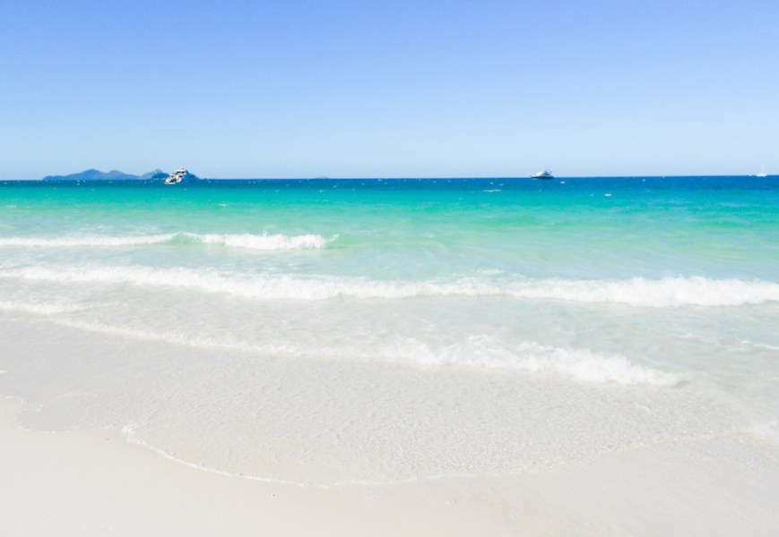 Photo of Whitehaven Beach in the Whitsundays Queensland
