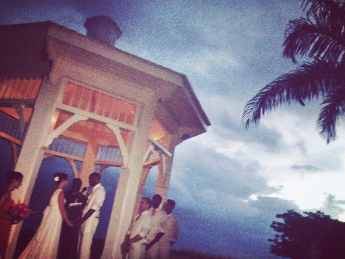 Wedding, Moondance Cliffs, Jamaica