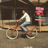 Leiden - wooden bicycle