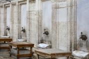 Feet washing station outside the Süleymaniye Mosque.