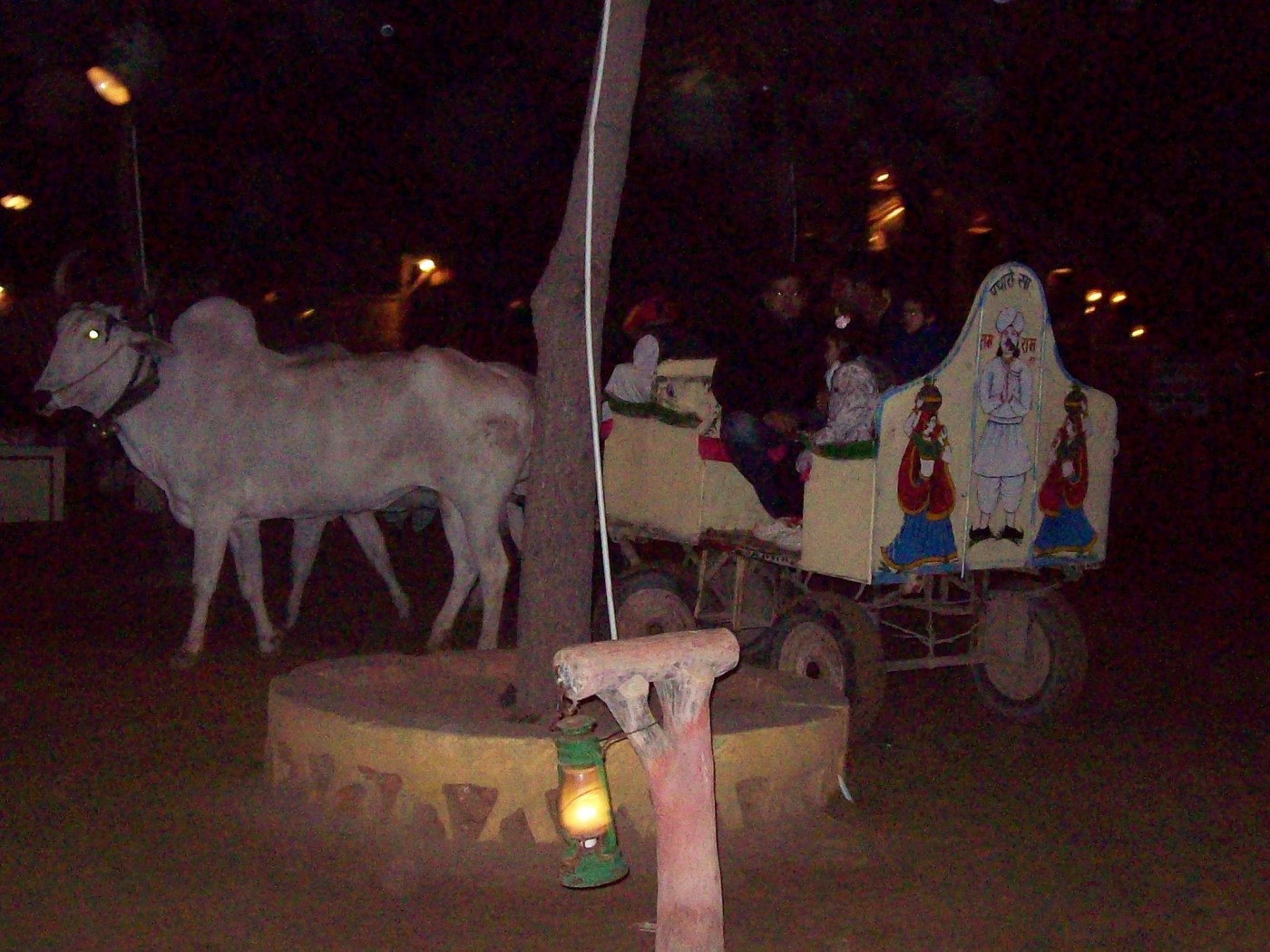 Cow carriage in chowki dhani, jaipur India | tourists places in Jaipur