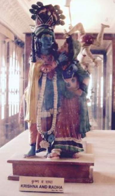 radha krishna scupture in Albert Hall Museum Jaipur Jaipur images India