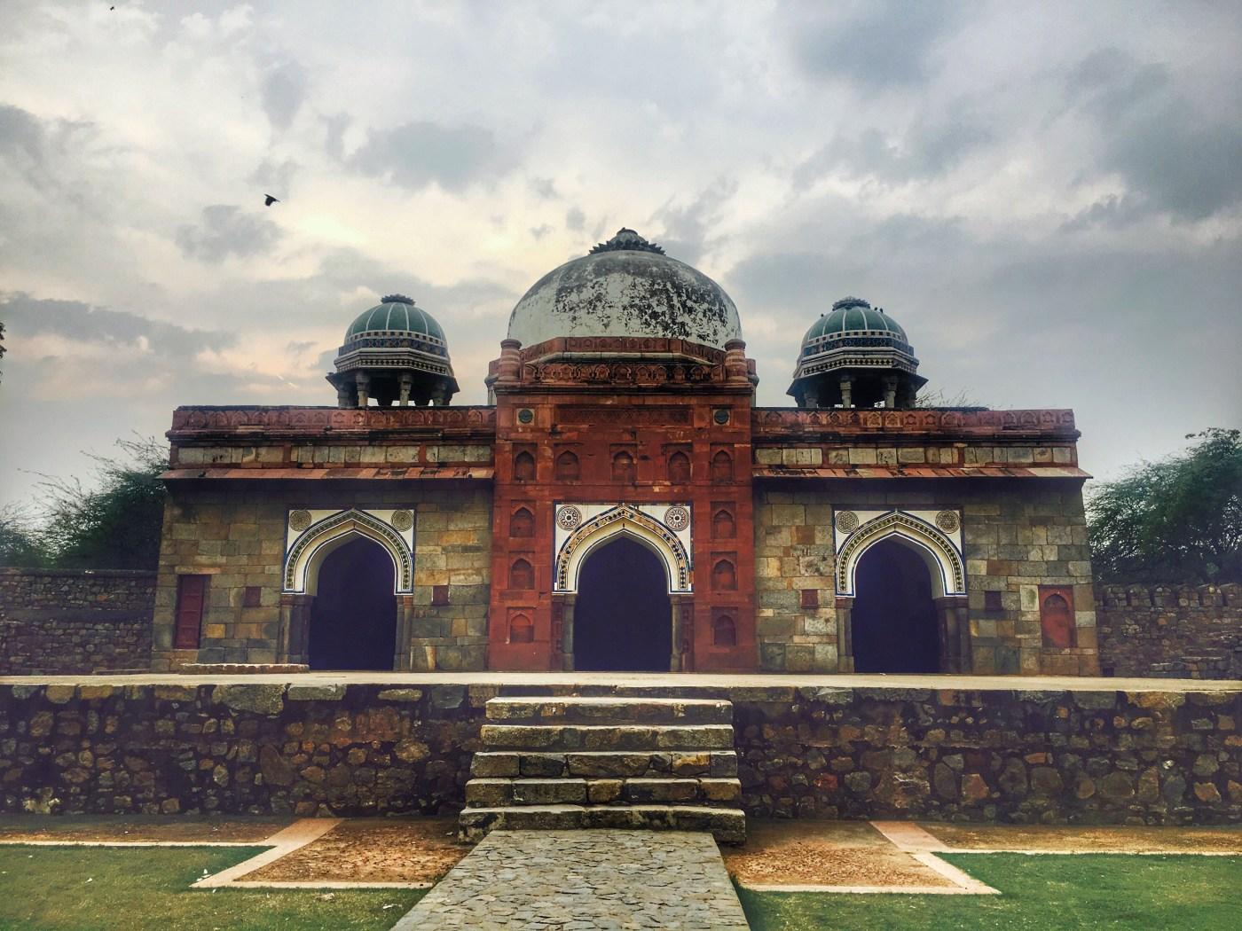 Humayun-tomb-minister-hall