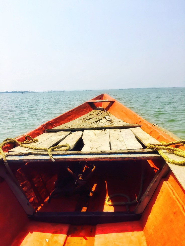 Chilika Lake Puri India