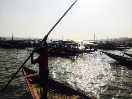 Tourist Places of Odisha | A boat owner in Chilika Lake Odisha India