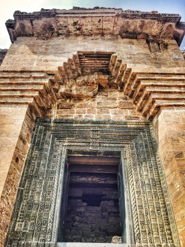 Entry door at Sun temple konark