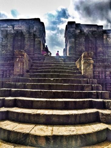 stairs at Sun temple konark