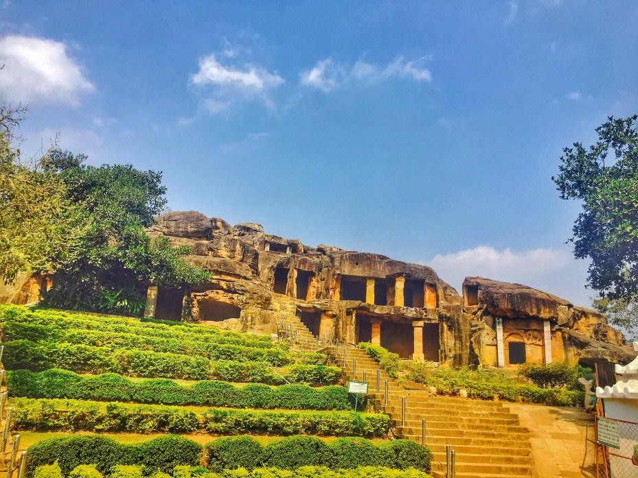 Tourist Places of Odisha | Udaygiri Caves Bhubaneshwar Odisha India