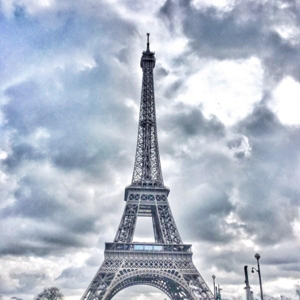 Dreamy Eiffel Tower in Paris France Europe