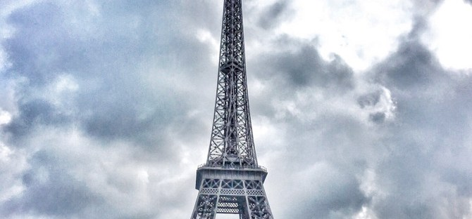 Dreamy Eiffel Tower in Paris France Europe