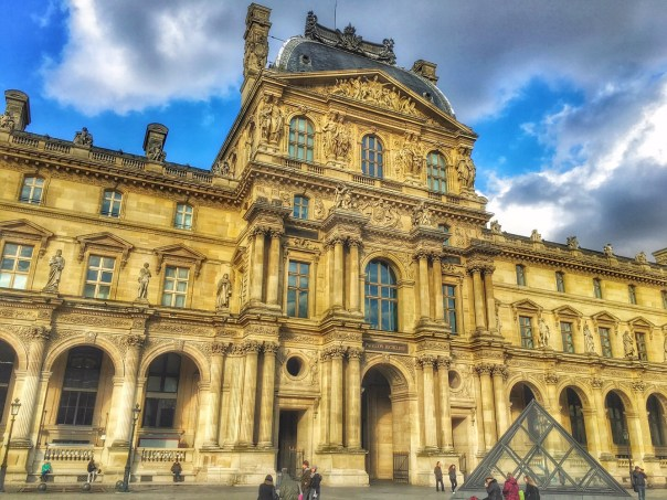 Louvre Museum Paris exteriors