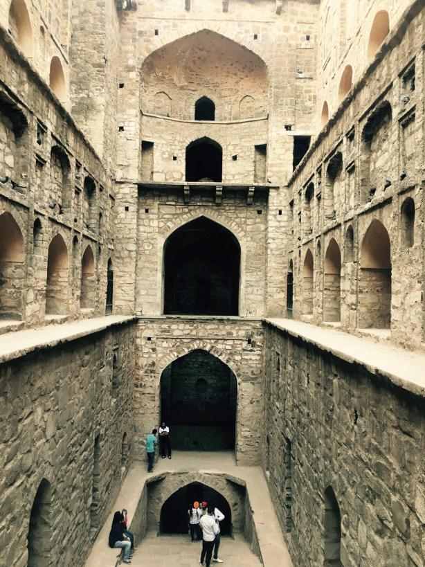Agrasen ki Baoli Delhi India