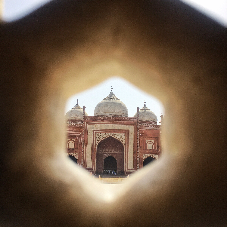 View from the Taj Mahal, India