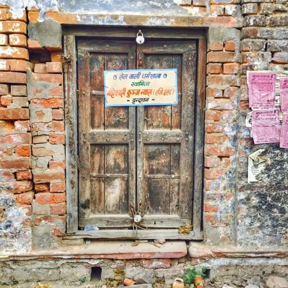 Doors of Vrindavan   Vrindavan photography