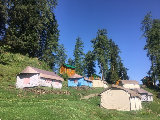Camps at Narkanda Himachal Pradesh India