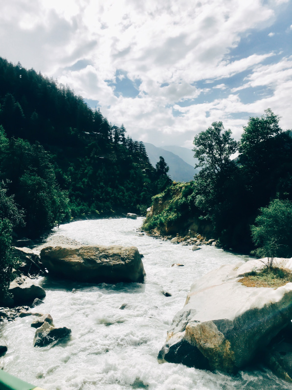 Baspa River in Sangla Valley