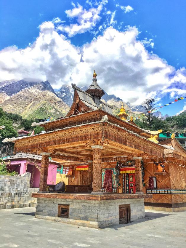 Bering Nag Temple Sangla valley Himachal Pradesh India