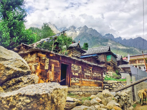 Sangla Valley Kinnaur | homes in Sangla valley Himachal Pradesh India