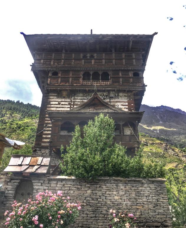 Kamru Fort Sangla valley Himachal Pradesh India   Places to visit in Sangla Valley