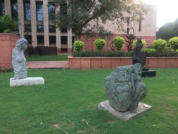 Various sculptures in National Gallery of Modern Art Delhi