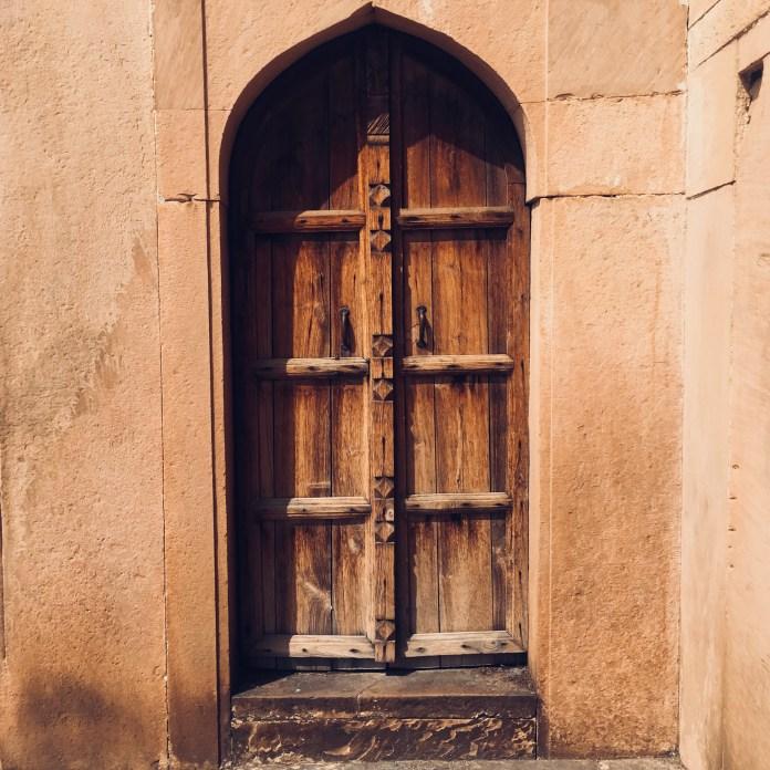Safdar Jang Tomb - A door