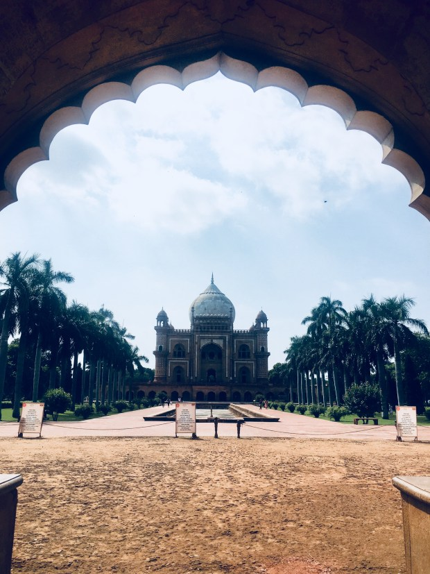 Safdarjung Tomb - View from entry
