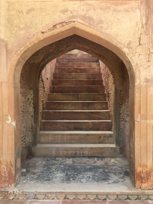 Stairs to Safdarjung Tomb