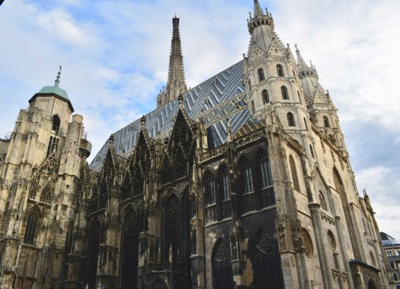 Places to visit in Vienna in 2 days | St Stephans Cathedral Exteriors-Vienna-Austria