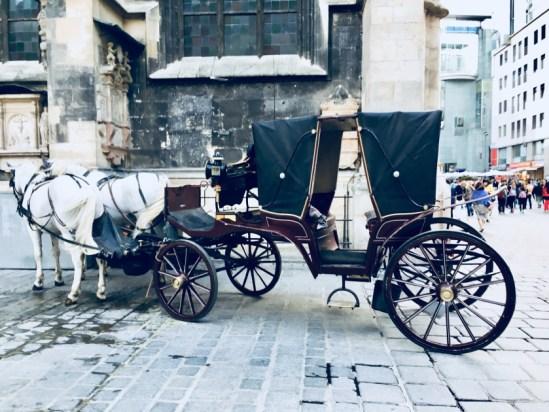 Places to visit in Vienna in 2 days | horse-wagon-vienna-austria