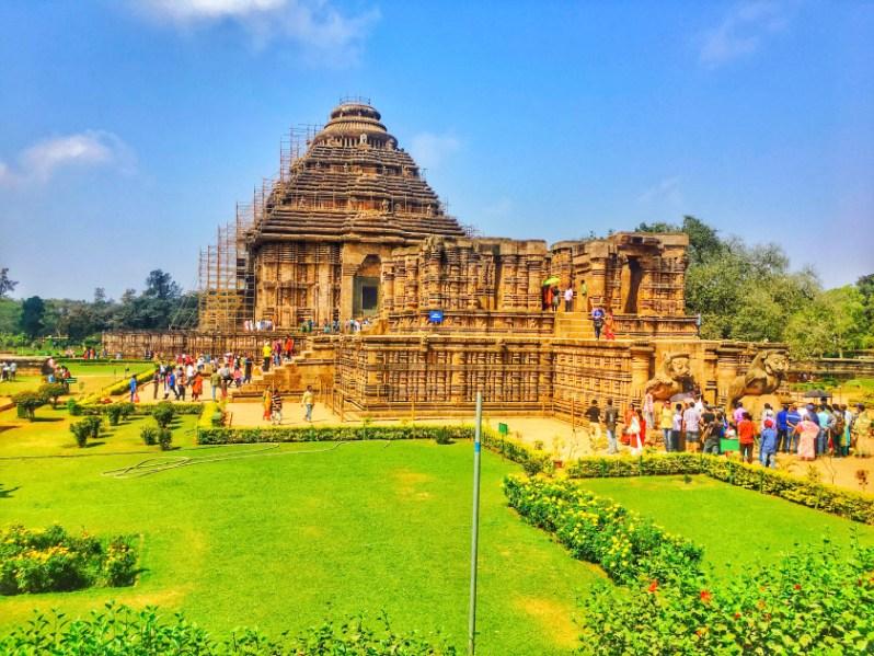 Tourist Places of Odisha | konark temple Odisha Temple