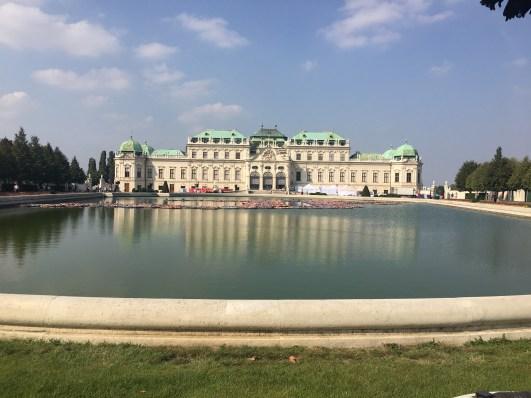 Belvedere Palace - Reflection