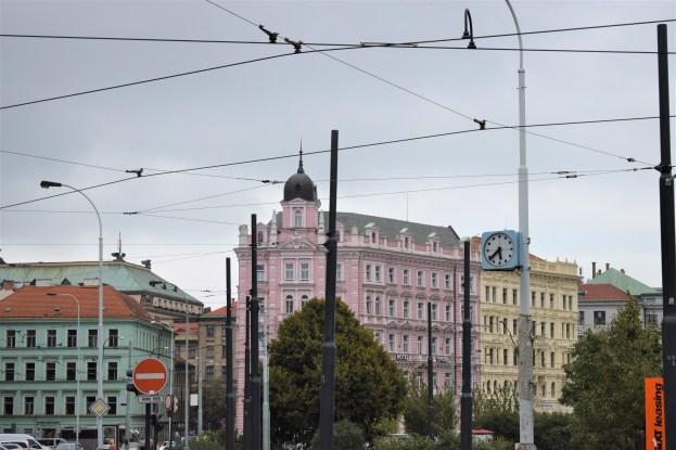 Prague Pink building