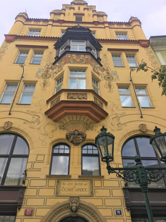 Prague - Yellow Building