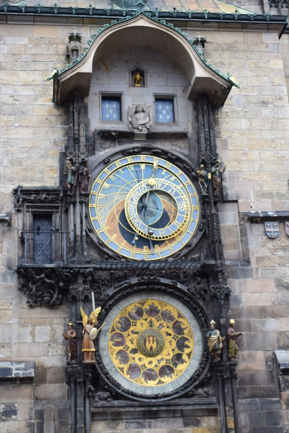 What to do in Prague in 2 days | Prague Itinerary | Prague - Astronomical clock - close up