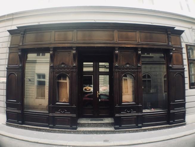 a huge door in vienna
