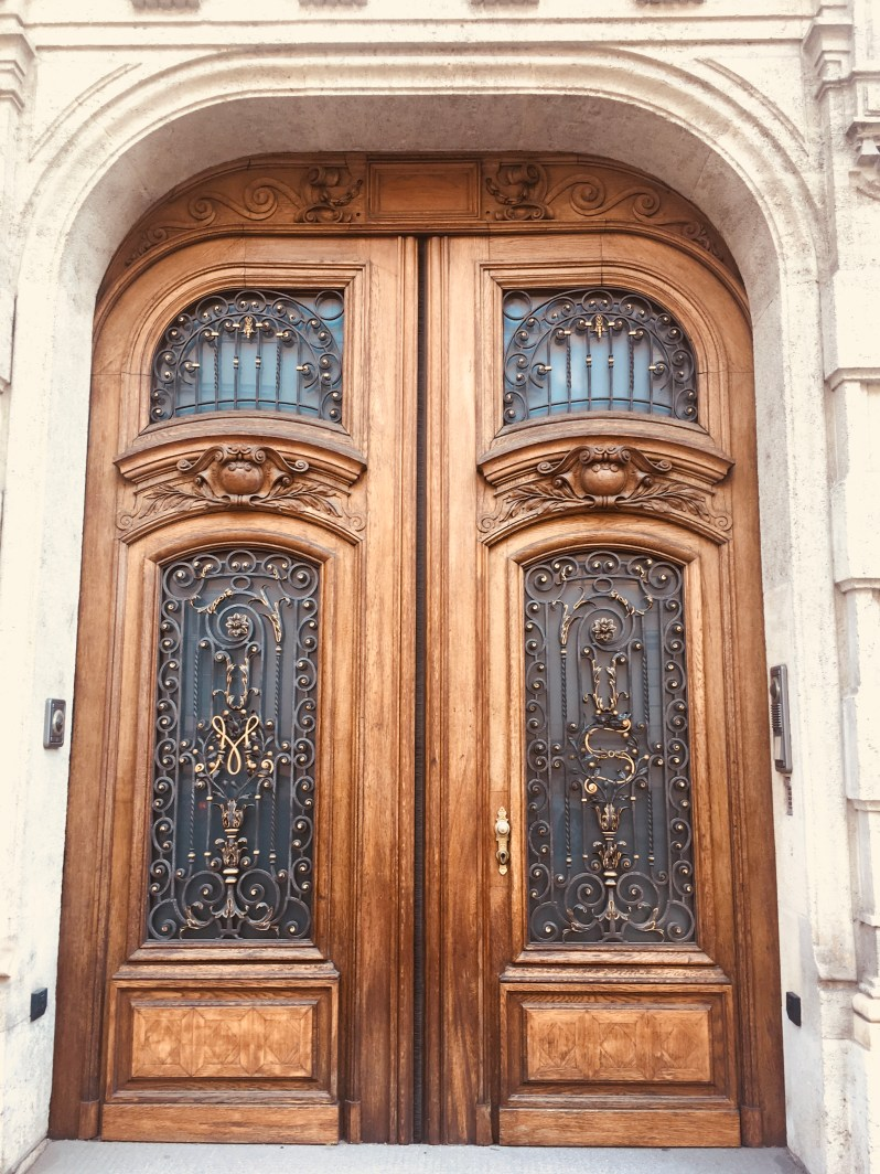 Beautiful door in Vienna