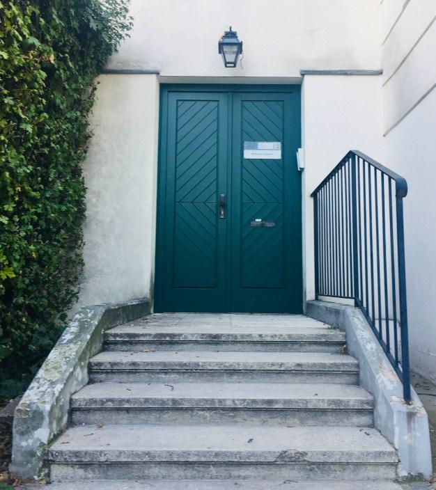a door in Belvedere Palace