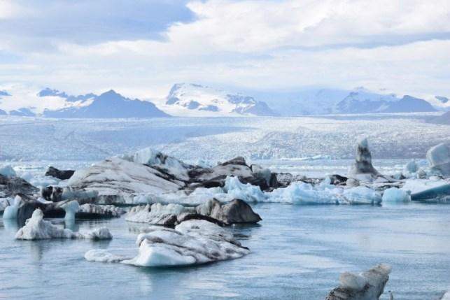 Europe Bucket List | Glacier lagoon in Iceland