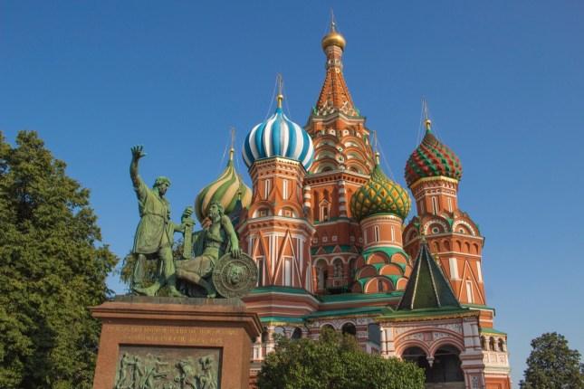 Europe Bucket List   Russia