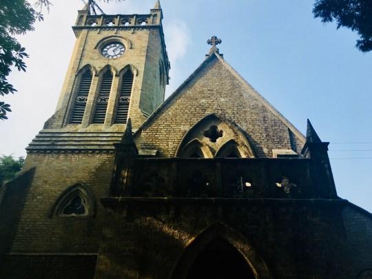 Christ Church in Kasauli
