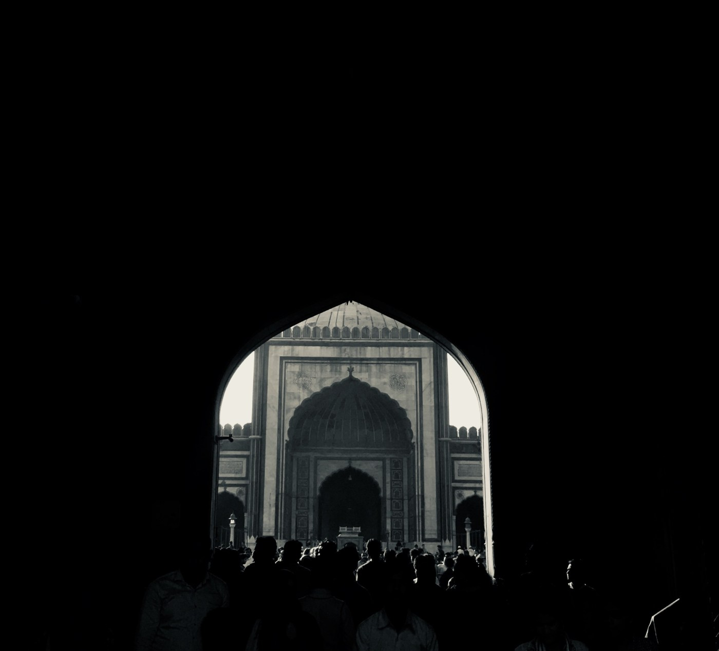 Jama Masjid Gate 1 |  The largest mosque in India