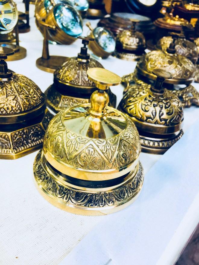 Bells in Dilli Haat | handicraft market in Delhi