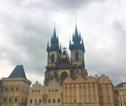 prague-church-of-our-lady-before-tyn | Prague Itinerary | What to do in Prague in 2 days