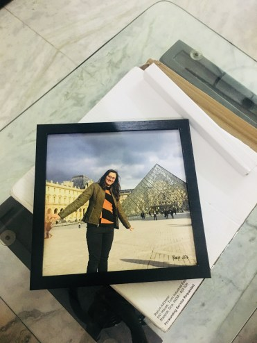 Photojaanic frame unwrapping