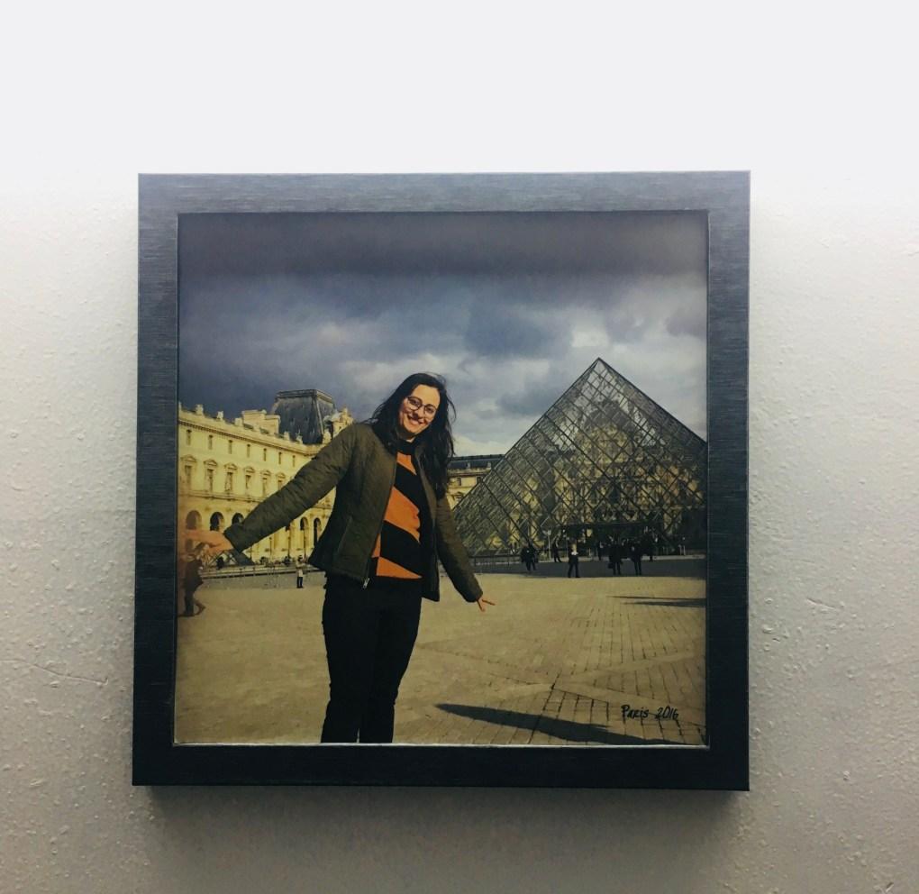 Photojaanic frame hanging in my room