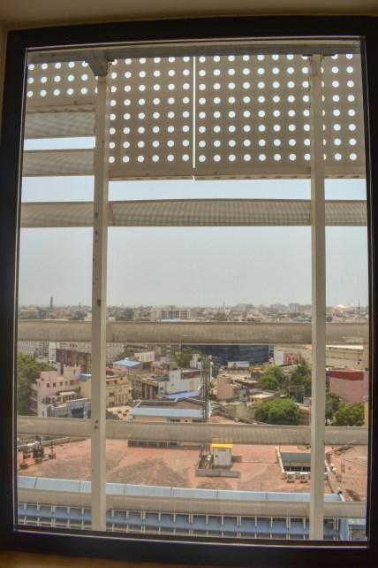 IBIS room's window