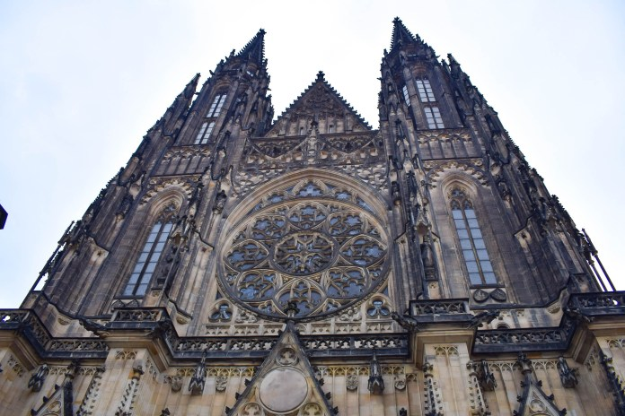 St Vitus Cathedral Close up