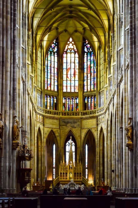 St Vitus Cathedral interiors