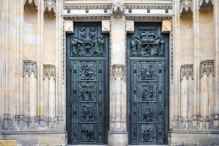 St Vitus Cathedral intricate door